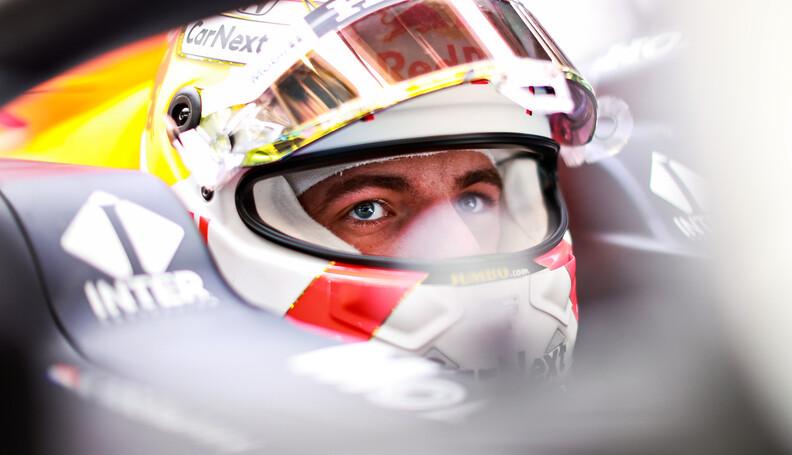 BARCELONA, SPAIN - MAY 08: Max Verstappen of Ne...