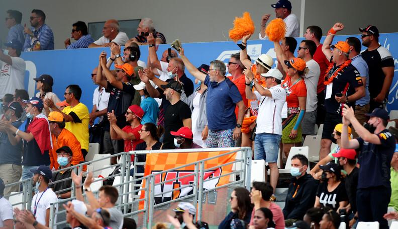 LE CASTELLET, FRANCE - JUNE 20: Fans show their...