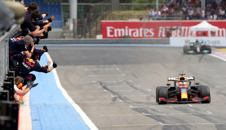 LE CASTELLET, FRANCE - JUNE 20: Red Bull Racing...