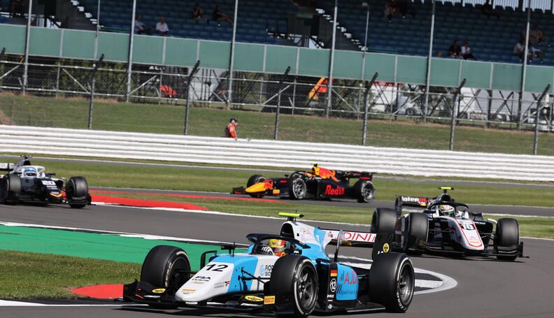 FIA Formula 2 Championship Lirim Zendeli (GER) ...