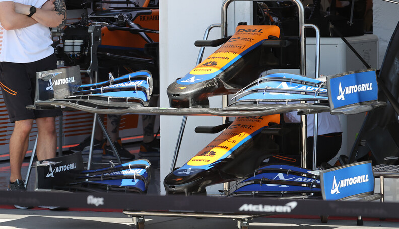 Formula One World Championship McLaren MCL35M. ...