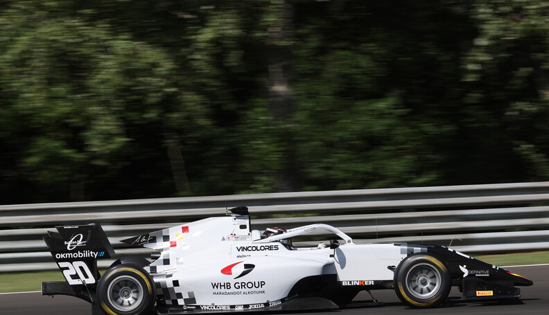 FIA Formula 3 Championship Laszlo Toth (ITA) Ca...