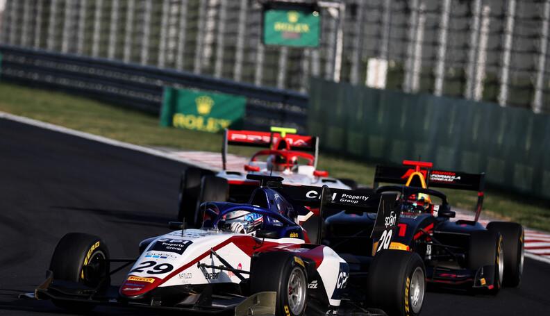 FIA Formula 3 Championship Logan Sergeant (USA)...