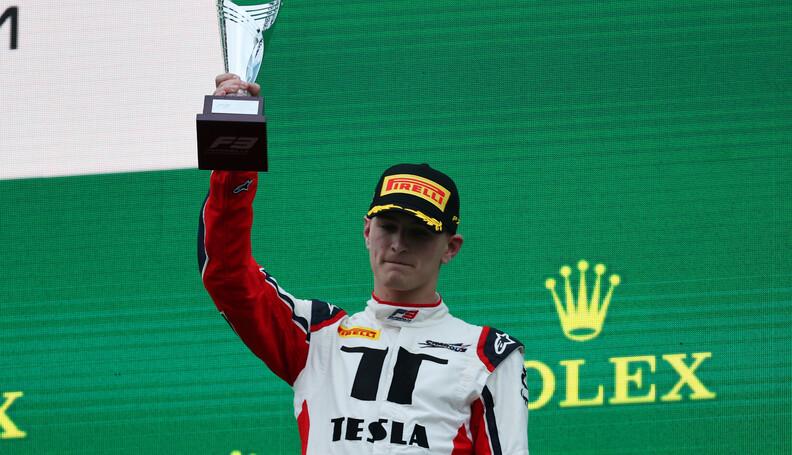 FIA Formula 3 Championship Logan Sargeant (USA)...