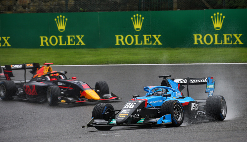 FIA Formula 3 Championship Calan Williams (AUS)...
