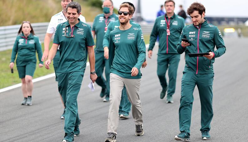 Formula One World Championship Sebastian Vettel...