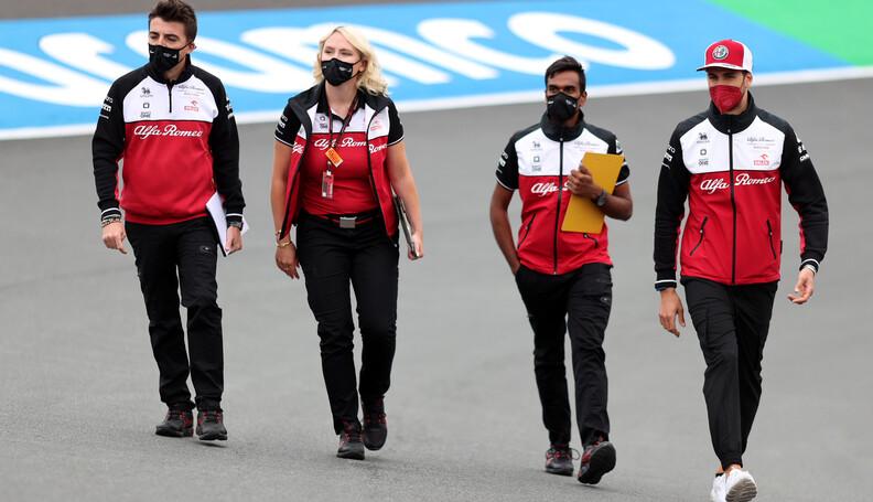 Formula One World Championship Antonio Giovinaz...