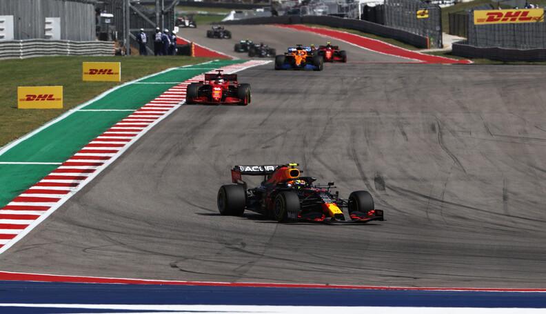 AUSTIN, TEXAS - OCTOBER 24: Sergio Perez of Mex...